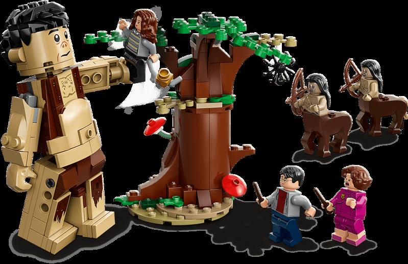LEGO - Harry Potter ™ 75967 Zakázaný les: Setkání Drápa s profesorkou Umbridgeovou
