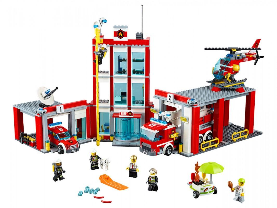 LEGO - Hasičská Stanice