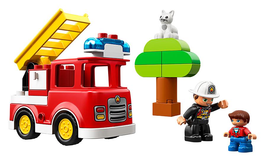 LEGO - Hasičské Auto