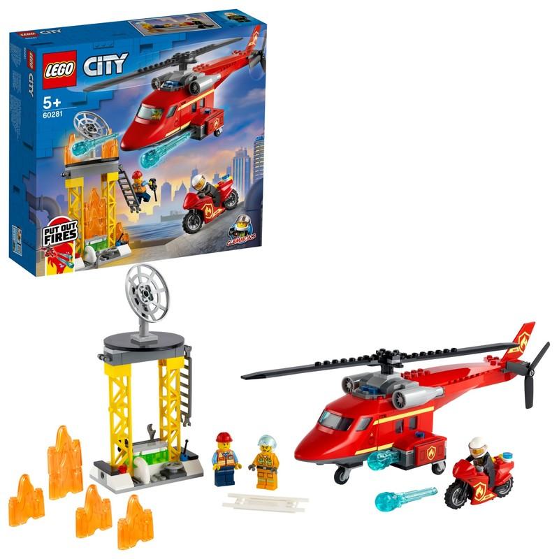 LEGO - Hasičský záchranný vrtulník