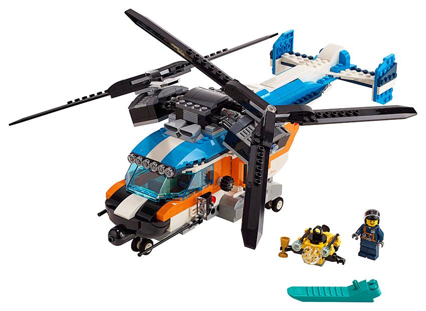 LEGO - Helikoptéra Se Dvěma Rotory