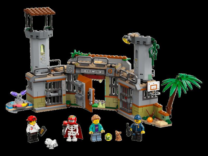 LEGO - Hidden Side ™ 70435 Opuštěná věznice v Newbury