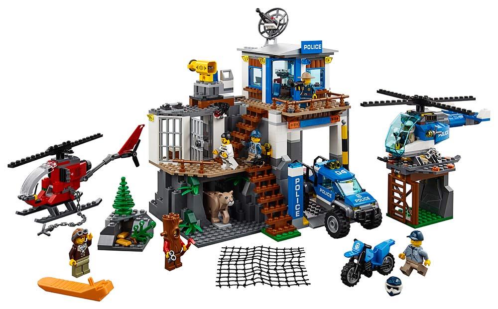 LEGO - Horská Policejní Stanice
