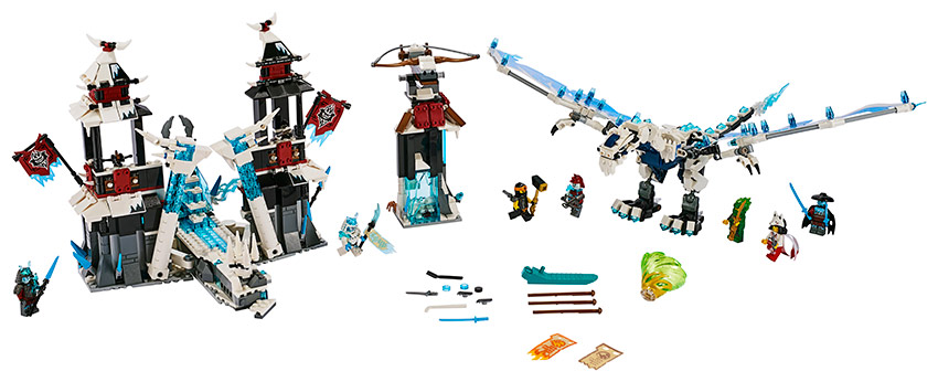 LEGO - hrad zapomenutého císaře