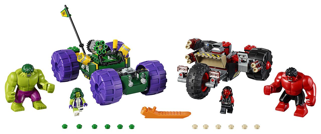 LEGO - Hulk Vs. Červený Hulk