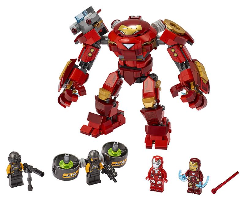 LEGO - Iron Man Hulkbuster proti agentovi A.I.M.