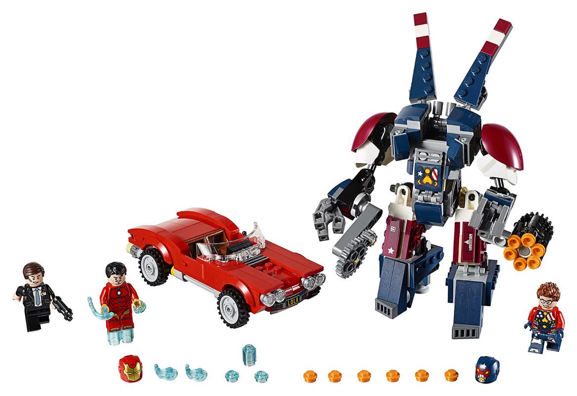 LEGO - Iron Man: Robot Z Detroitských Oceláren