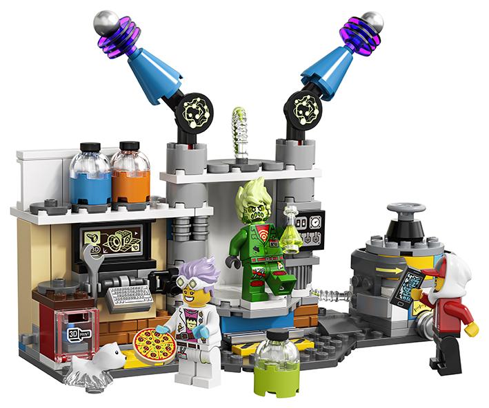 LEGO - J. B. A Jeho Laboratoř Plná Duchů