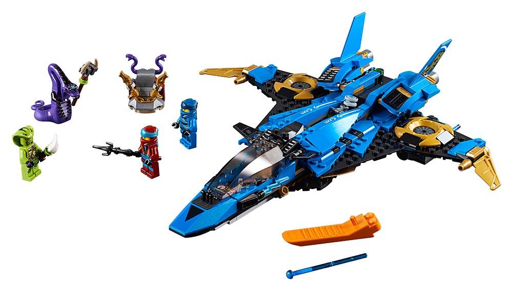 Fotografie LEGO - Jayův Bouřkový Štít Lego