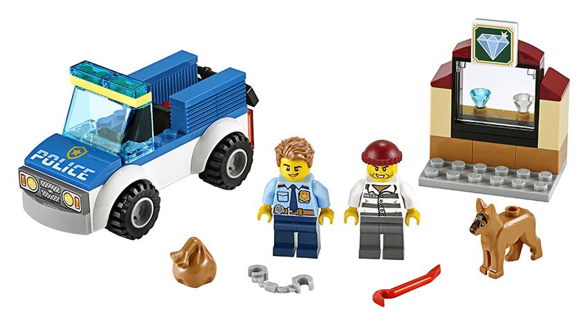 LEGO - Jednotka S Policejním Psem
