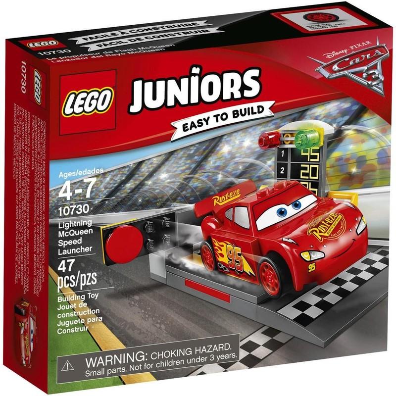 LEGO - Juniors 10730 Vystřelovač bleskového McQueena