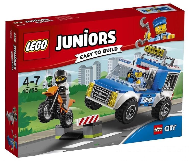 LEGO - Juniors 10735 Honička s policejní dodávkou