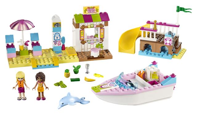 LEGO - Juniors 10747 Andrea a Stephanie na dovolené na pláži