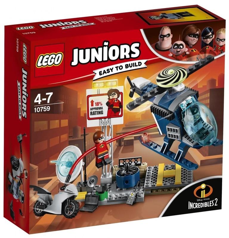 LEGO - Juniors 10759 Elastižena a honička na střeše