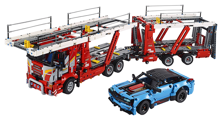 LEGO - Kamion Pro Přepravu Aut