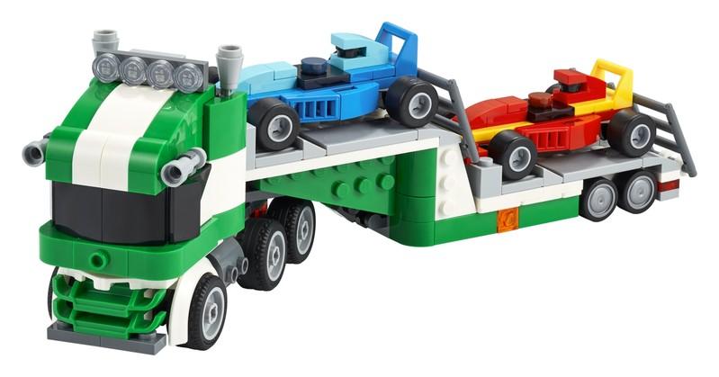 LEGO - Kamion pro přepravu závodních aut