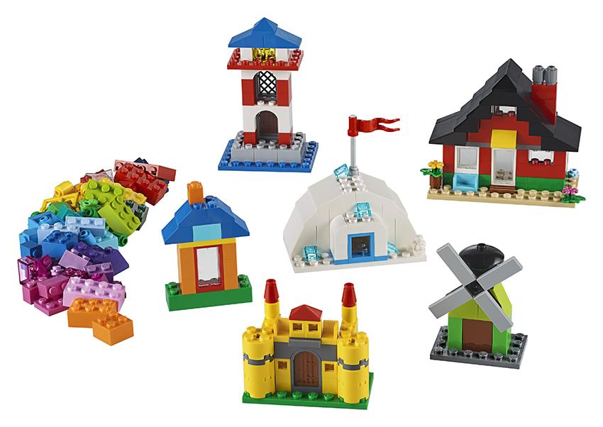 LEGO - Kostky A Domky