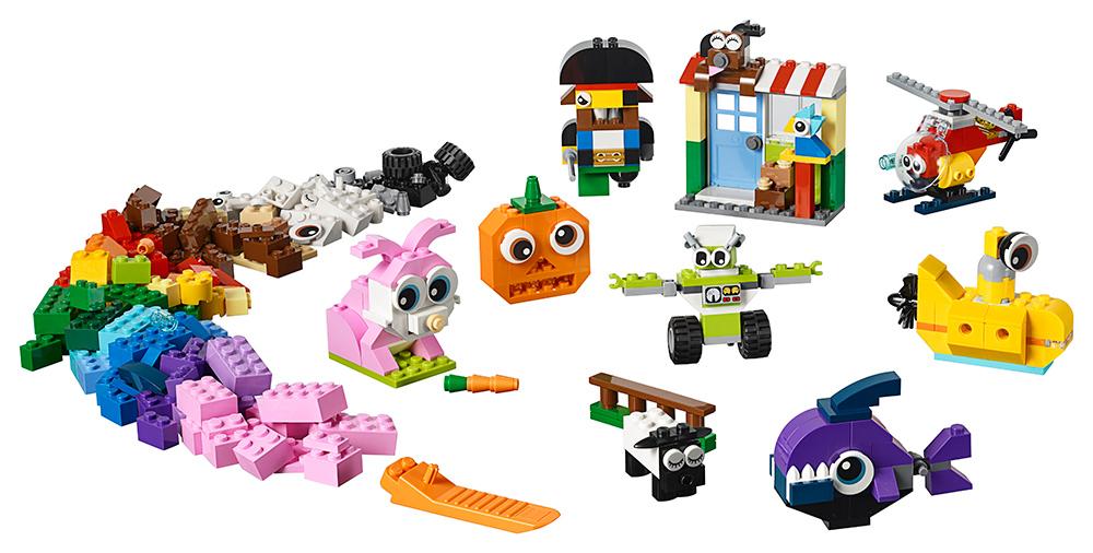 LEGO - Kostky S Očima