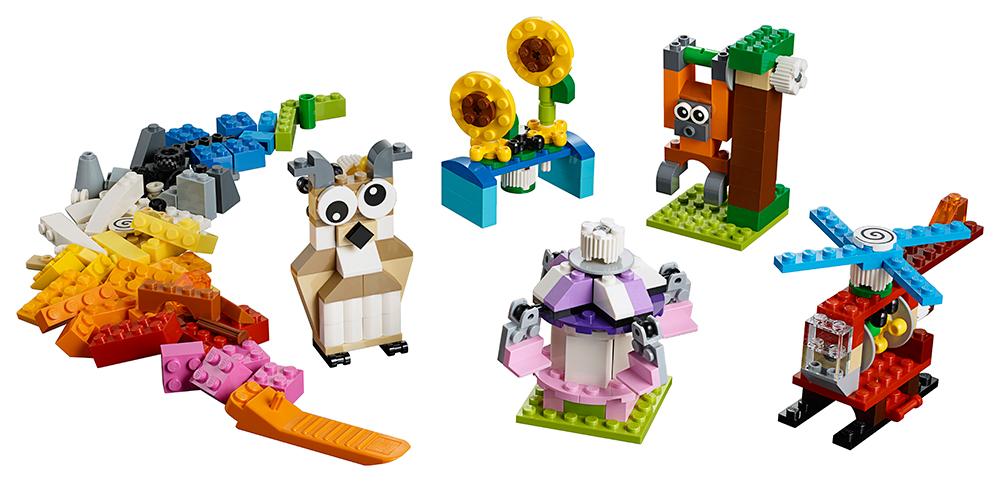 LEGO - Kostky A Ozubená Kolečka