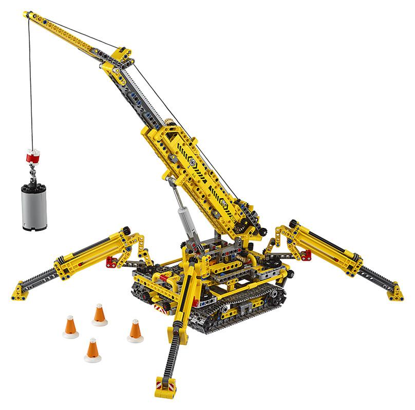 LEGO - Kompaktní Pásový Jeřáb
