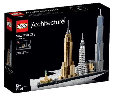 LEGO - LEGO Architecture 21028 New York City