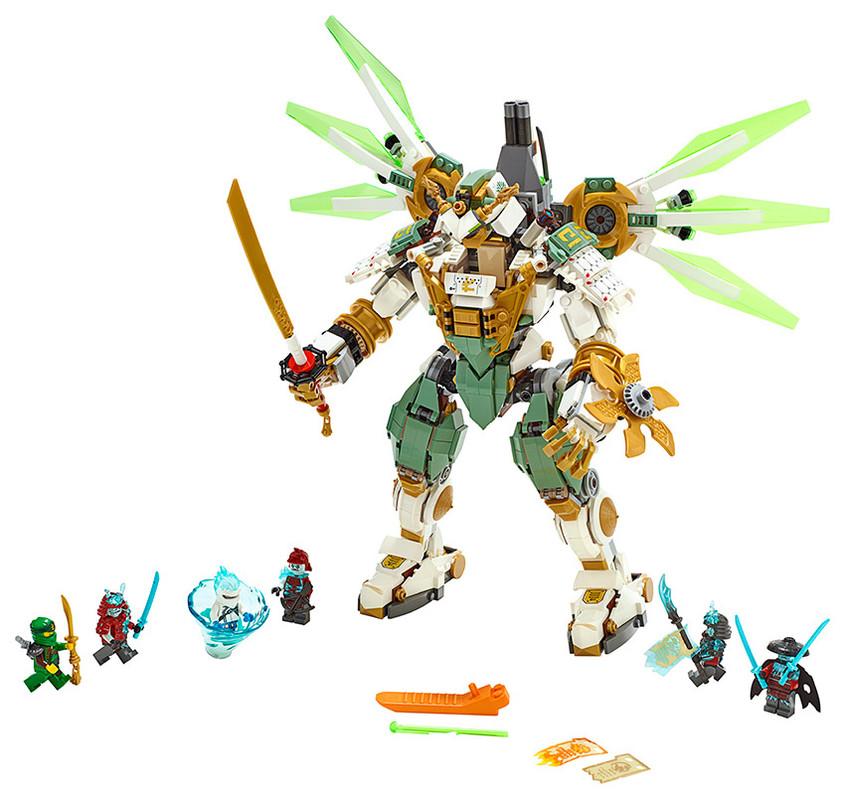 LEGO - Lloydův titanový robot