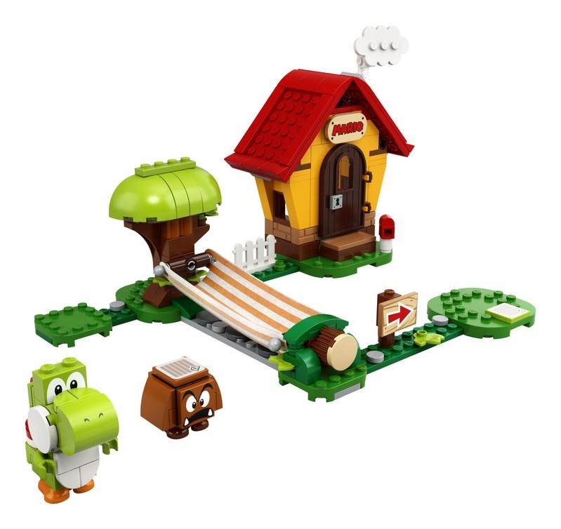 LEGO - Mariův dům a Yoshi – rozšiřující set