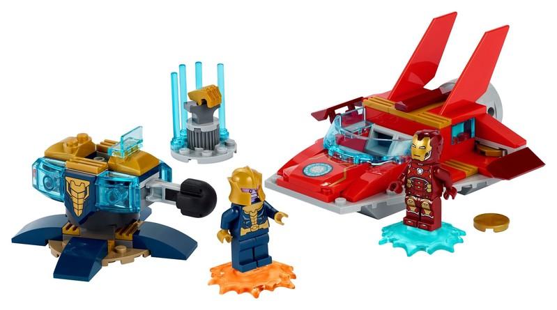 LEGO - Marvel Super Heroes 76170 Iron Man vs. Thanos