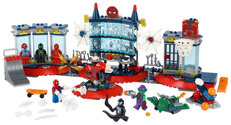LEGO - Marvel Super Heroes 76175 Útok na pavoučí doupě