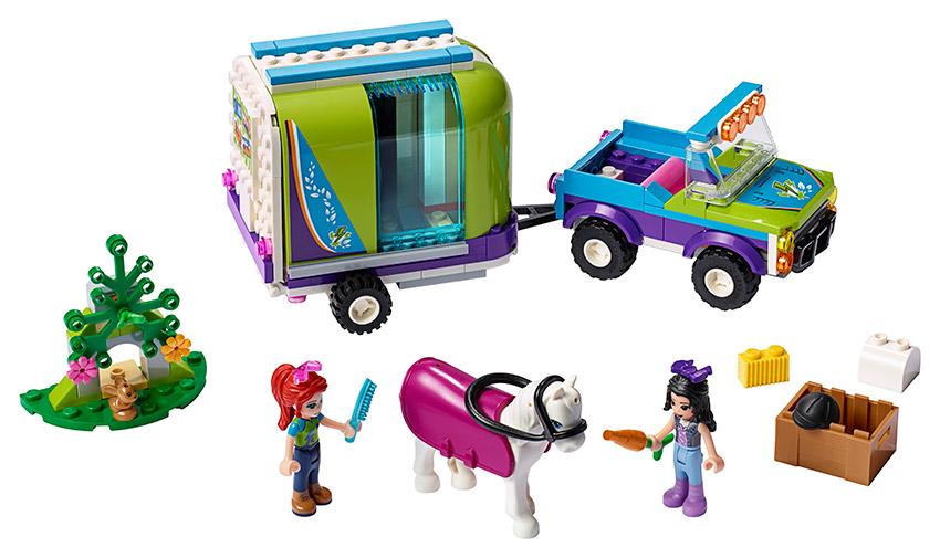 LEGO - Mia A Její Přívěs Pro Koně