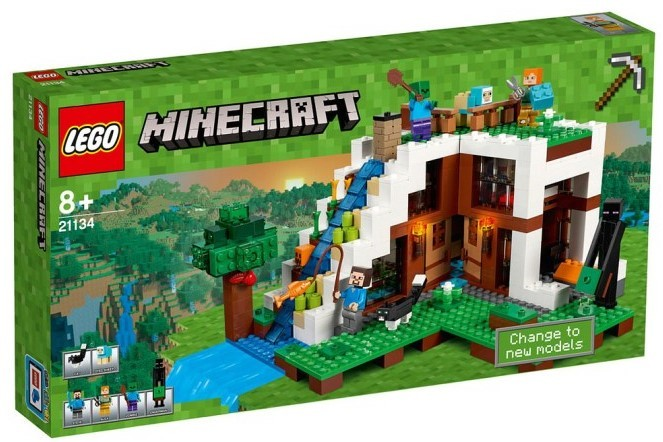 LEGO - Minecraft 21134 Základna ve vodopádu