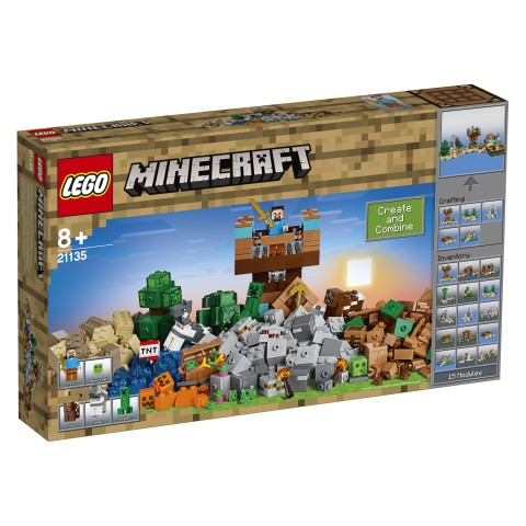 LEGO - Minecraft 21135 Kreativní box