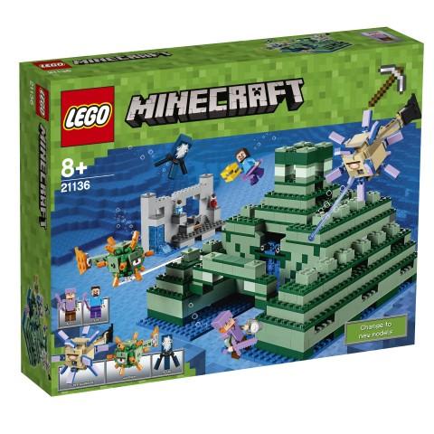 LEGO - Minecraft 21136 Památník v oceánu