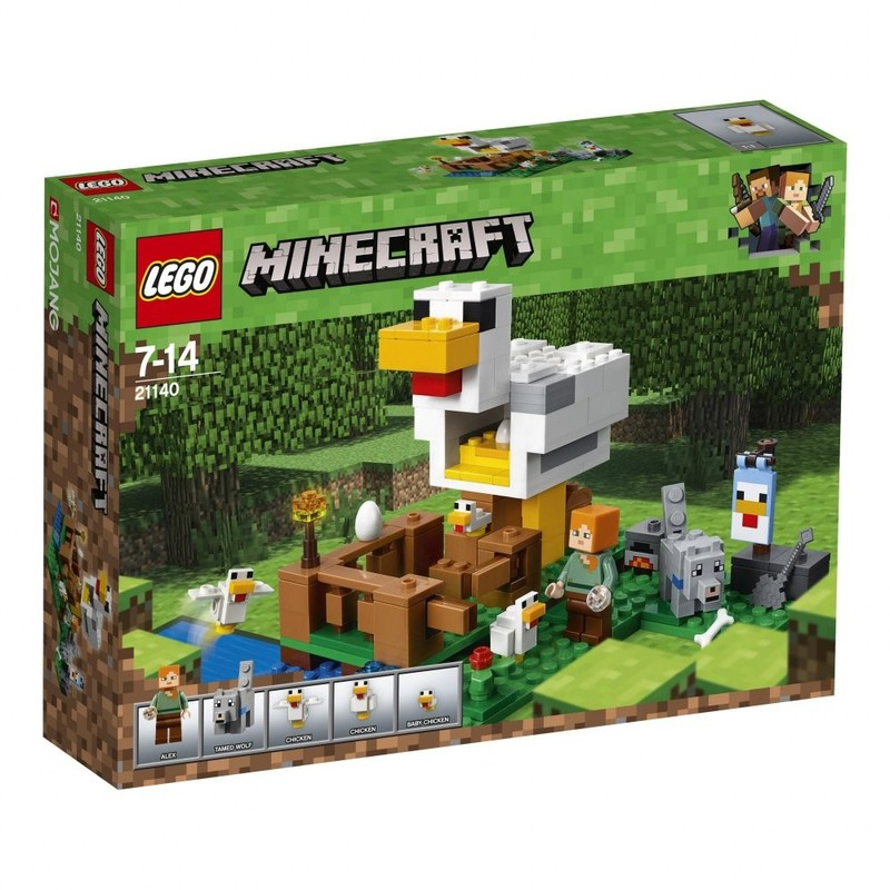 LEGO - Minecraft 21140 Kuřina