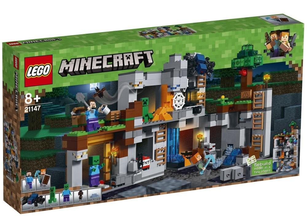 LEGO - Minecraft 21147 Dobrodružství ve skalách