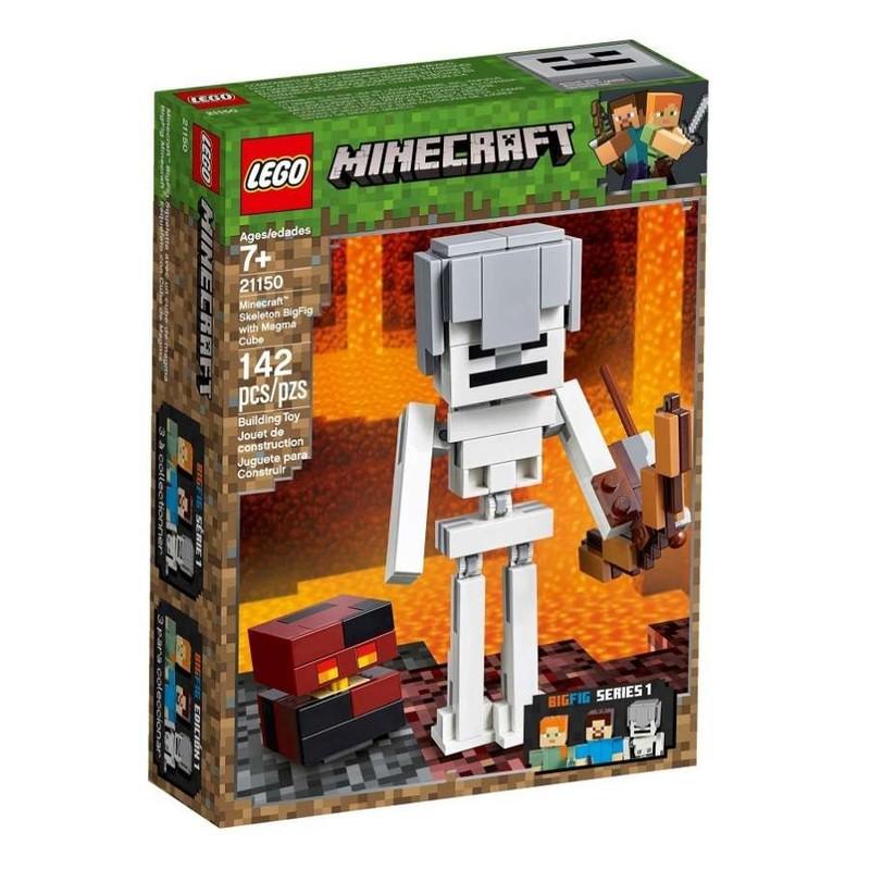 LEGO - Minecraft 21150 Velká figurka Minecraft: kostra s pekelným slizem