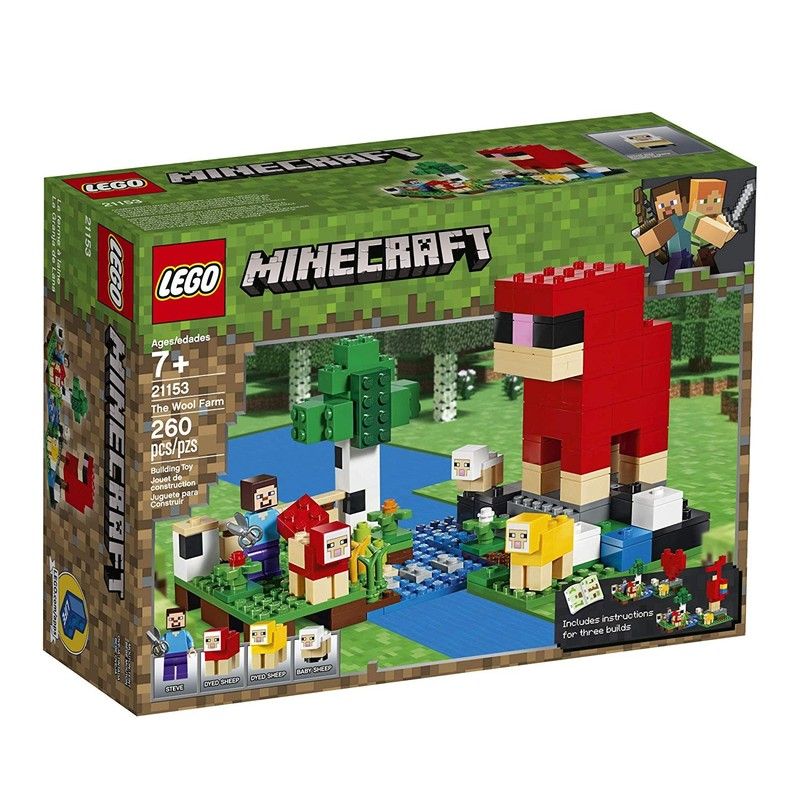 LEGO - Minecraft 21153 Ovčí farma