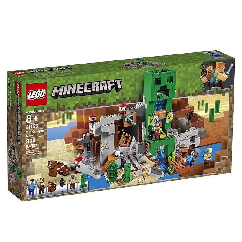 LEGO - Minecraft 21155 Důl Creeper