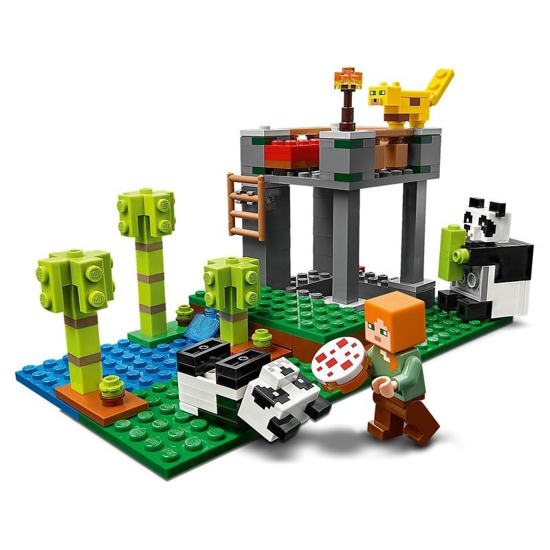 LEGO - Minecraft 21158 Školka pro pandy