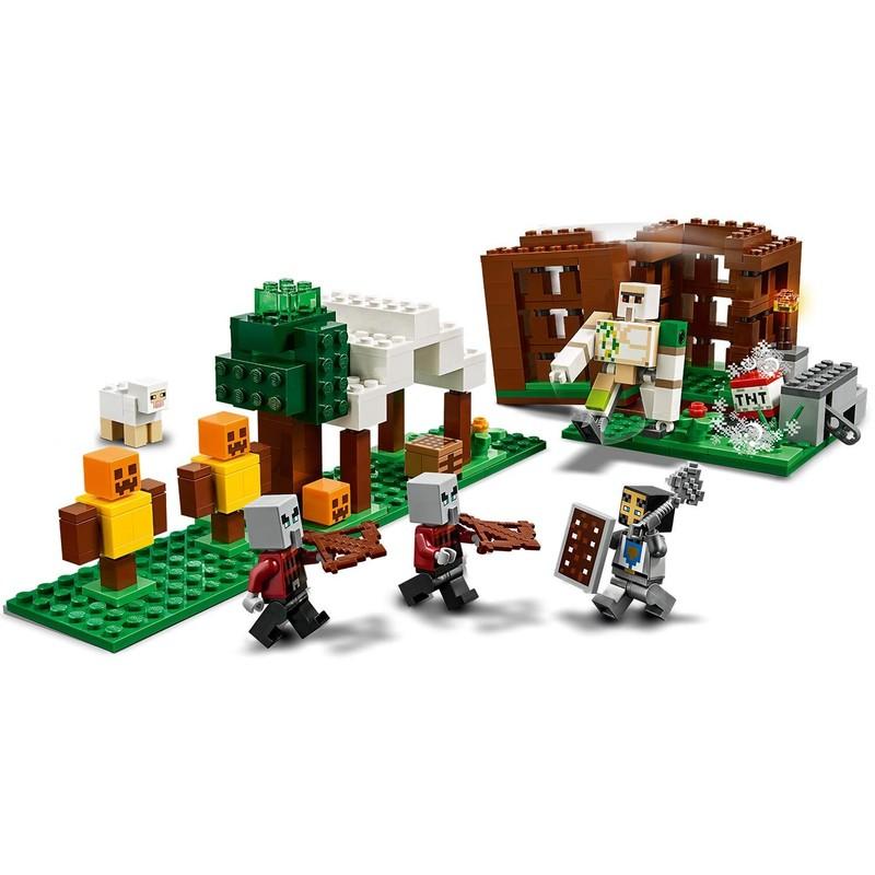 LEGO - Minecraft 21159 Základna PILLAGER