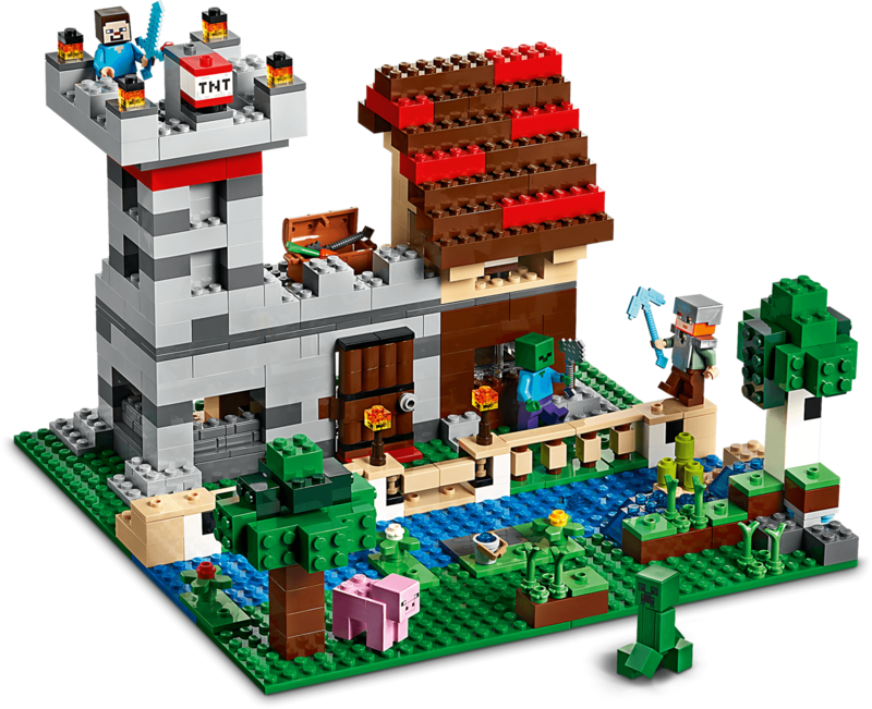 LEGO - Minecraft 21161 Kreativní box 3.0