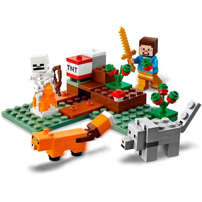 LEGO - Minecraft 21162 Dobrodružství v tajze