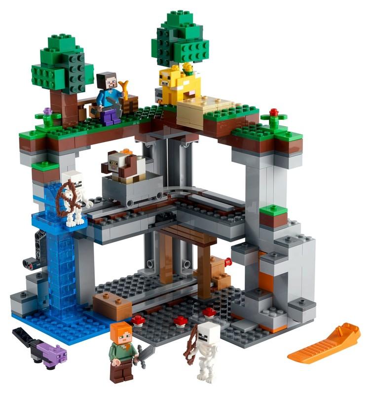 LEGO - Minecraft 21169 První dobrodružství