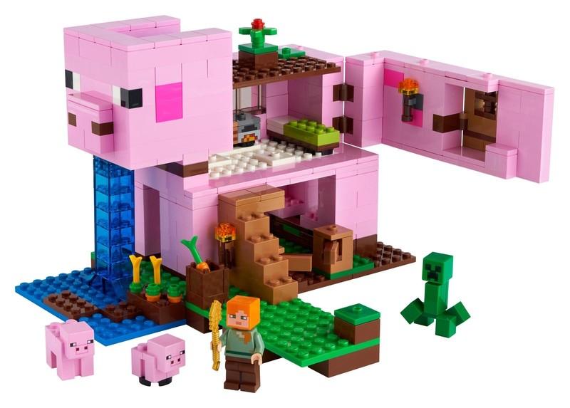 LEGO - Minecraft 21170 Vepřový domek