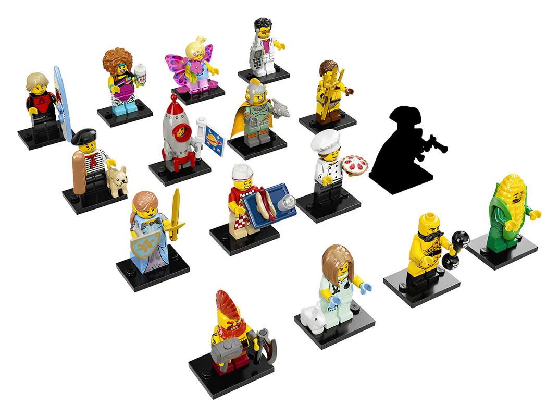 LEGO - Minifigurky 2017 série 17