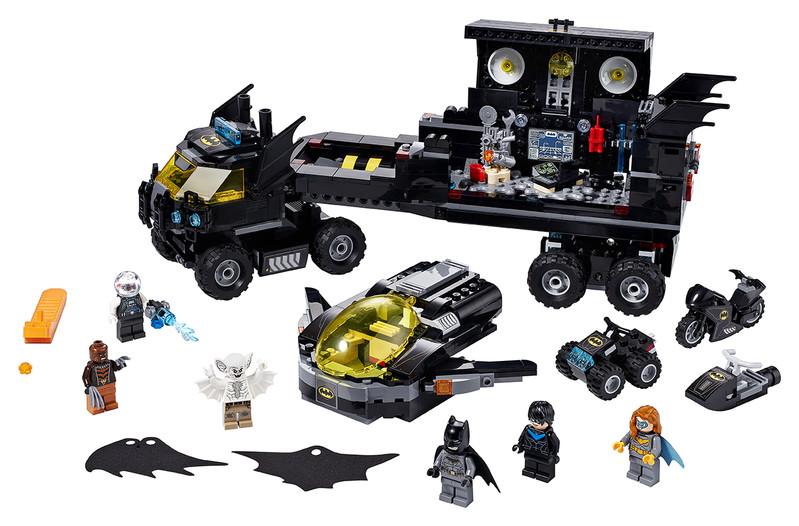 LEGO - Mobilní základna Batmana