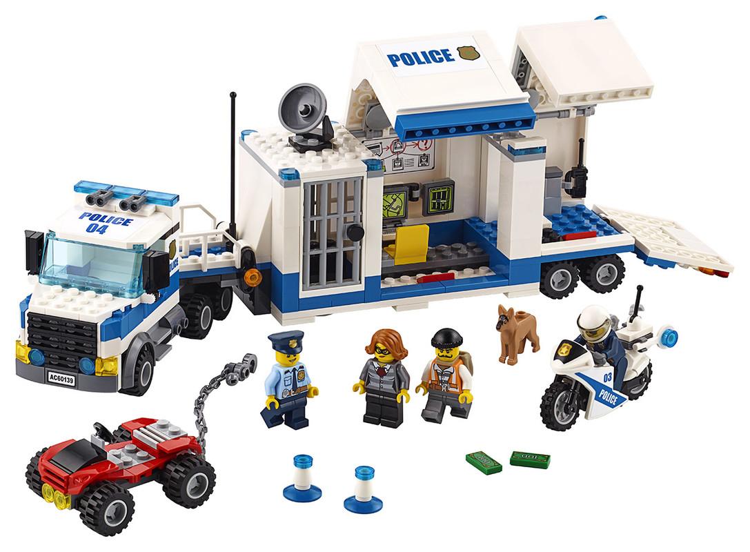 LEGO - Mobilní Velitelské Centrum