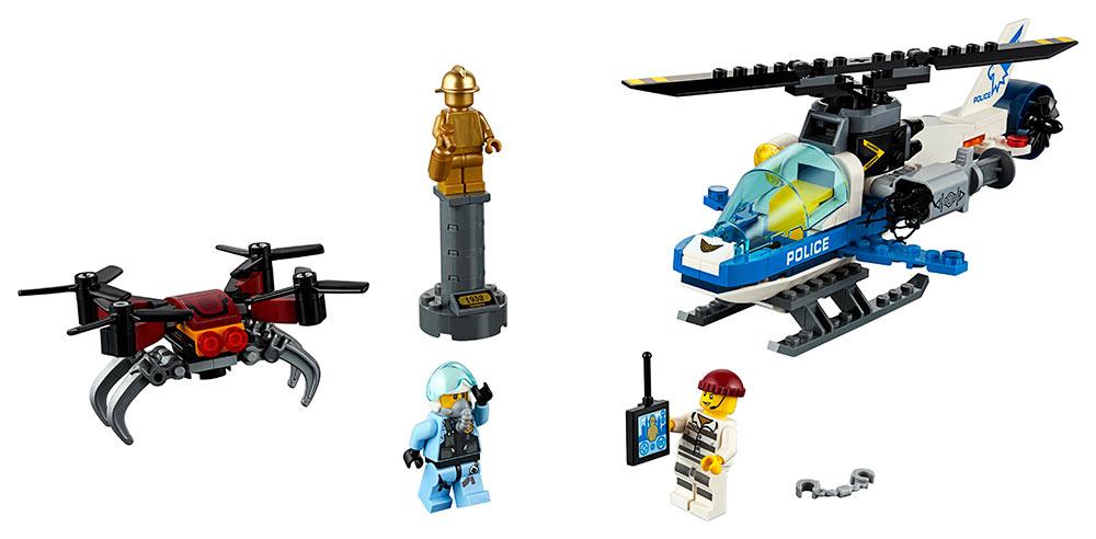 LEGO - Letecká Policie A Dron