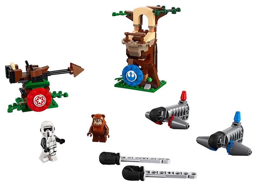 LEGO - napadení na planetě Endor™