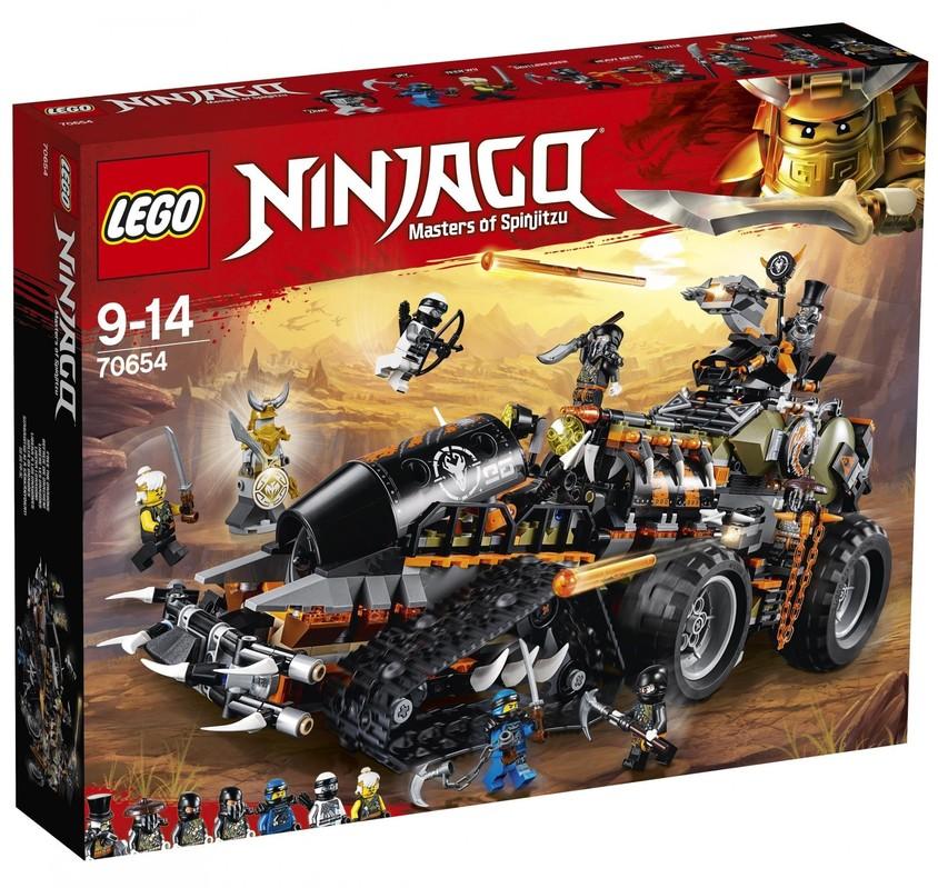 LEGO - Ninjago® 70654 Dieselnaut